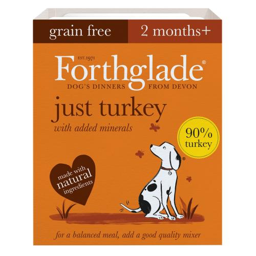 Forthglade Just Turkey Grain Free Dog Food