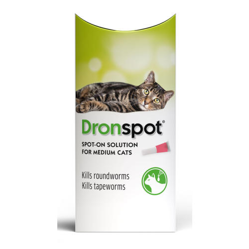 Dronspot Spot On Wormer for Cats