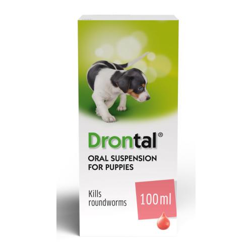Drontal Puppy Liquid Worming Treatment