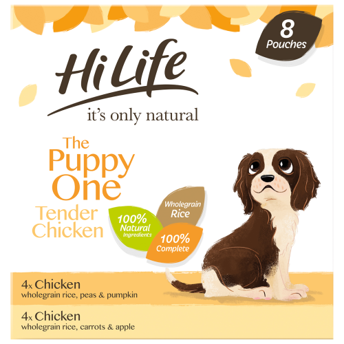 HiLife Its Only Natural Complete Puppy Wet Adult Dog Food