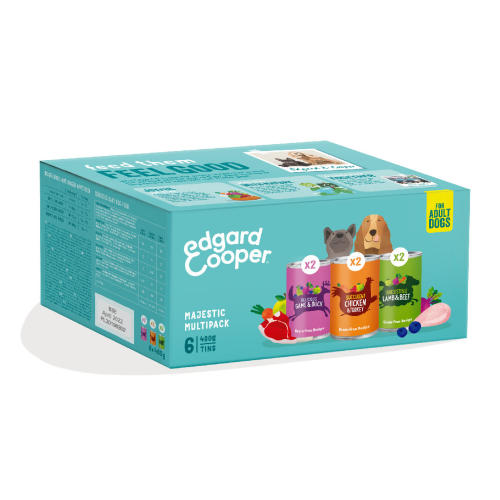 Edgard & Cooper Grain Free Multipack Wet Adult Dog Food
