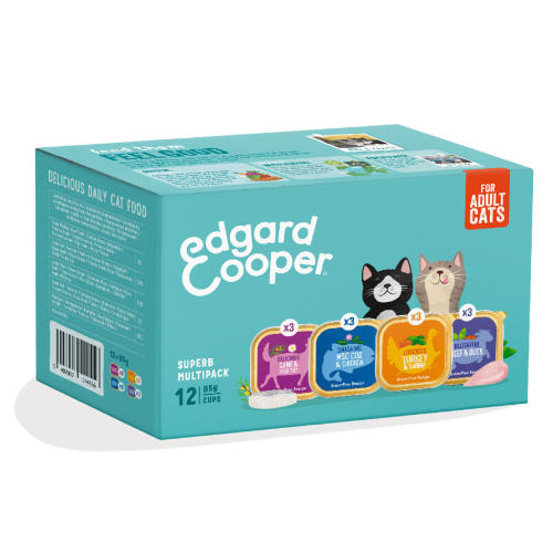 Edgard & Cooper Grain Free Multipack Wet Adult Cat Food