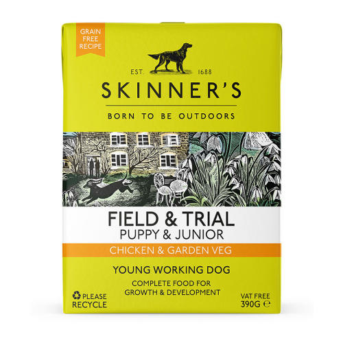 Skinners Field & Trial Chicken & Garden Veg Wet Puppy & Junior Food
