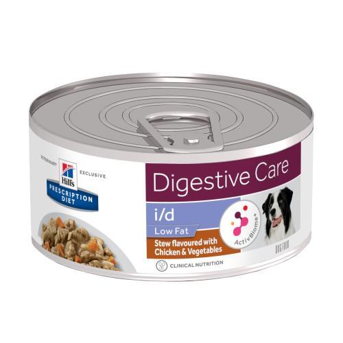 Hills Prescription Diet Low Fat Digestive Care Chicken & Vegetable Stew Wet Dog Food