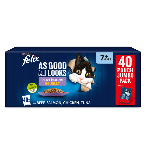 Felix As Good As It Looks 7+ Mixed Selection Cat Food