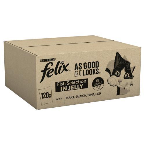 Felix As Good As It 1+ Looks Ocean Selection Cat Food