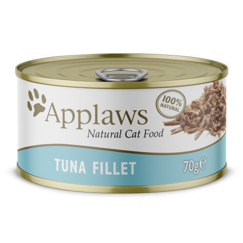 Applaws Natural Tuna Fillet in Broth Wet Adult Cat Food