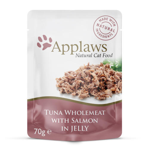 Applaws Natural Tuna with Salmon In Jelly Wet Adult Cat Food