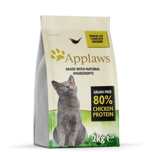 Applaws Complete Grain Free Chicken Dry Senior Cat Food