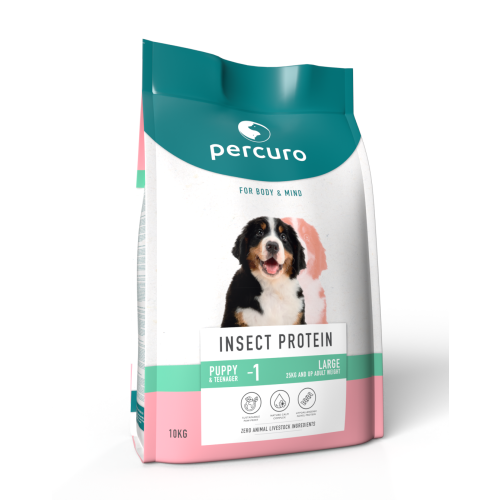 Percuro Insect Protein Large Breed Puppy Food
