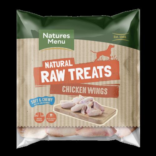 Natures Menu Chicken Wings Raw Frozen Natural Dog Treat