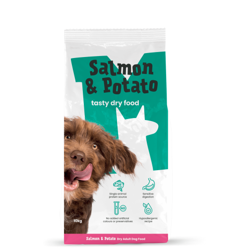 Monster Pet Foods Salmon & Potato Dry Adult Dog Food