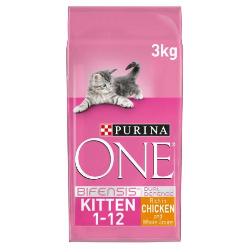 Purina ONE Chicken & Whole Grains Kitten Food