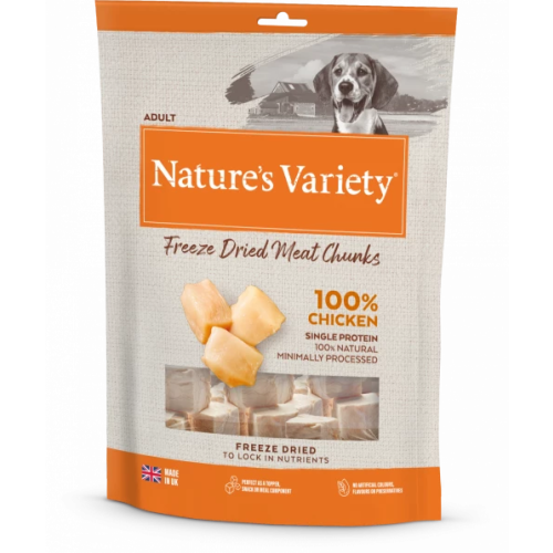 Natures Variety Freeze Dried Chicken Real Chunks Dog Food