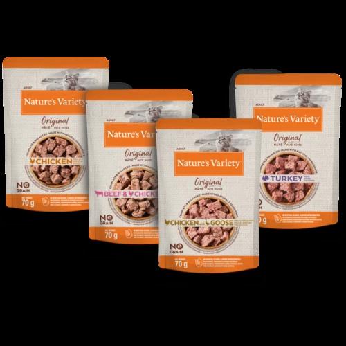Natures Variety Original Pate Multipack Wet Adult Cat Food