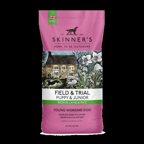 Skinners Field & Trial Lamb Puppy & Junior Dog Food