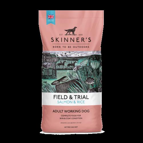 Skinners Field & Trial Salmon & Rice Adult Dog Food