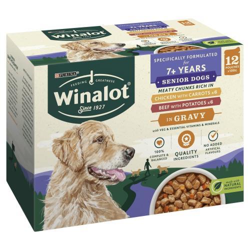 Winalot Meaty Chunks in Gravy Wet Adult Dog Food