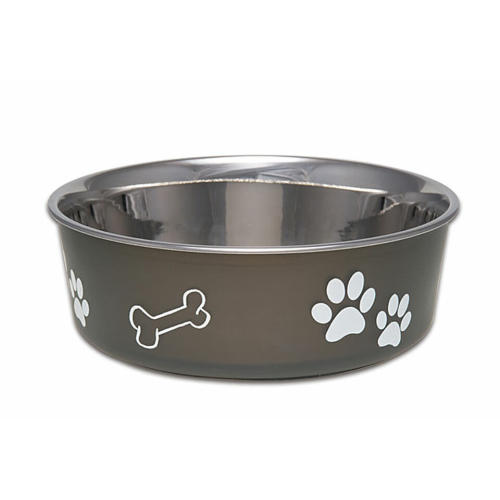Bella Bowls Stainless Steel Espresso Dog Bowl