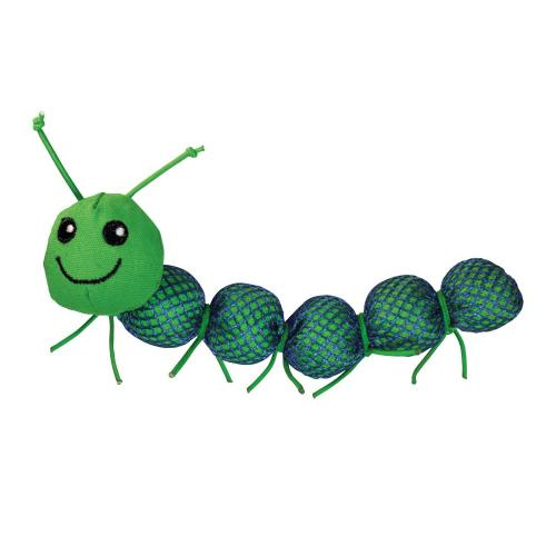 KONG Nibble Critter Caterpillar Cat Toy