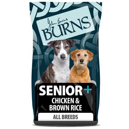 Burns Senior + Chicken & Brown Rice Dry Adult Dog Food