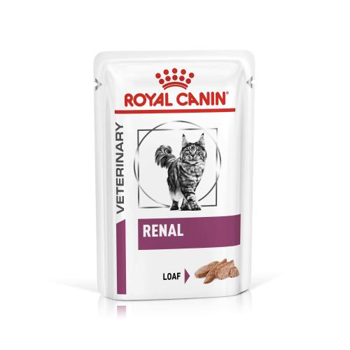 Royal Canin Veterinary Diets Renal in Loaf Wet Adult Cat Food