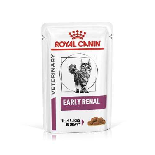 Royal Canin Veterinary Diets Early Renal in Gravy Wet Adult Cat Food