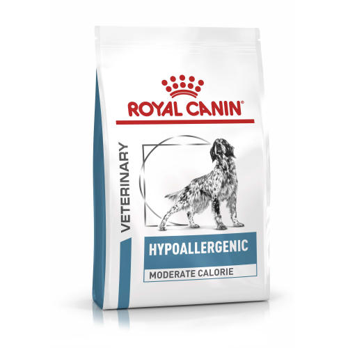 Royal Canin Veterinary Hypoallergenic Moderate Calorie Dry Dog Food