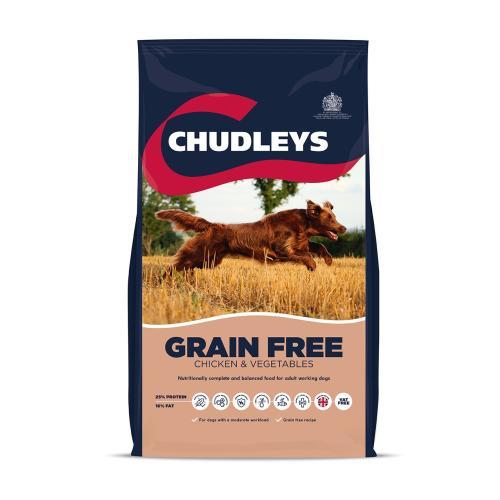Chudleys Grain Free Chicken & Vegetable Dry Adult Dog Food