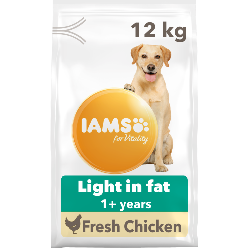 IAMS for Vitality Light in Fat  Chicken Dry Dog Food