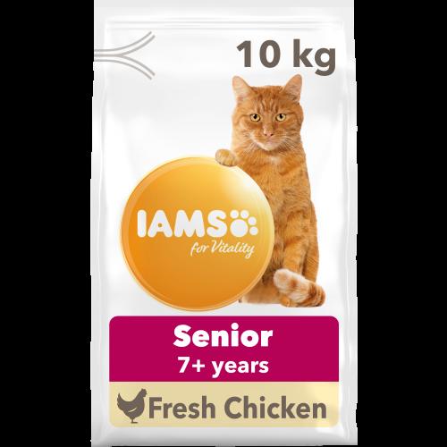 IAMS for Vitality Senior Chicken Dry Cat Food