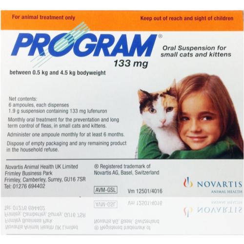 Program Flea Control Cat