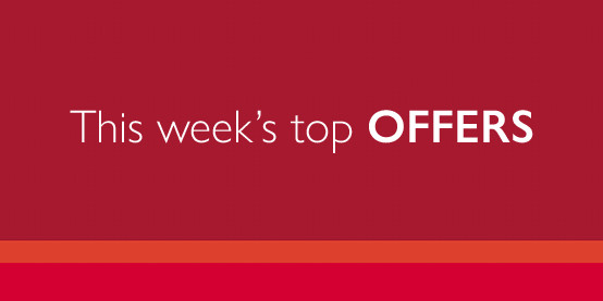 This weeks top offers