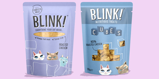Blink! Wet cat food