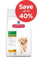 Save up to 40% on Hills Puppy