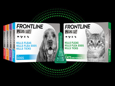 Save up to 50% on Frontline Plus Flea & Tick