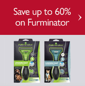 Save up to 60% on Furminator