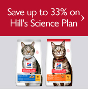 Save up to 33% on Hill's Science Plan