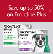 Save up to 50% on Frontline Plus