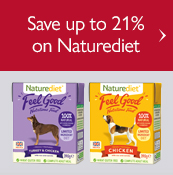 Save up to 21% on Naturediet