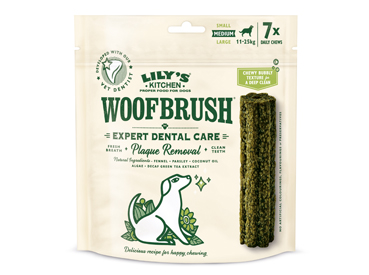 Save up to 26% on Lily's Kitchen Woofbrush