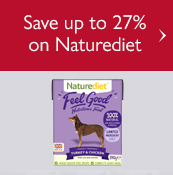 Save up to 27% on Naturediet