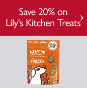 Save up to 16% on Lily's Kitchen Treats