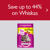 Save up to 40% on Whiskas