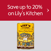 Save up to 20% on Lily's Kitchen