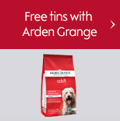 Free tins with Arden Grange