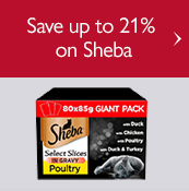 Save up to 21% on Sheba