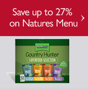 Save up to 27% on Natures Menu