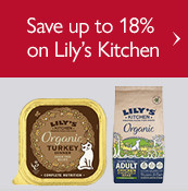 Save up to 18% on Lily's Kitchen