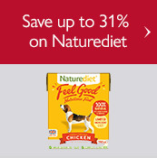 Save up to 31% on Naturediet